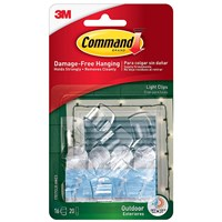 3M Command Seasonal Outdoor Light Clips