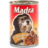 Madra  Tinned Dog Food Chicken Chunks - 400g