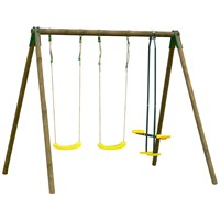 Trigano  Pressure Treated Wooden Swing Set