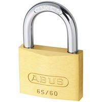 Abus  65 Series Brass Padlock - 60mm