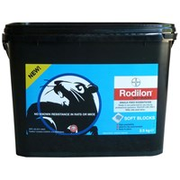 Bayer Environmental Rodilon Soft Blocks Rat & Mice Killer- 2.5kg