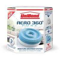 Unibond  Aero 360° Pure Moisture Absorber Refill Tabs - Twin Pack