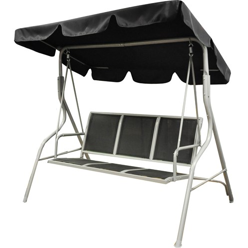 Kingfisher  3 Seater Swinging Hammock Bench Seat with Canopy