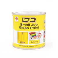Rustins  Small Job Gloss Paint Buttercup - 250ml