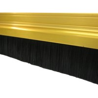 Exitex  Gold Brush Strip Draught Excluder