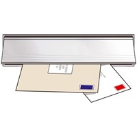 Exitex  Letterplate Seal & Flap - Aluminium/Silver