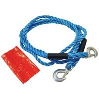 Faithfull  Tow Rope with Metal Hooks - 4 Metre