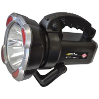 Lighthouse  Elite Nova 10W CREE 300m Rechargeable Spotlight with Warning Lights