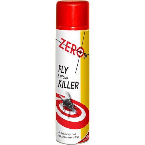 Zero In  Fly & Wasp Killer Aerosol - 300ml