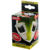 Eveready  CFL Mini GU10 Light Bulb - 11W