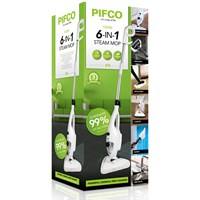 Pifco  6-in-1 Steam Mop - 1.3kW