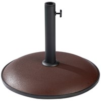 15kg Parasol Base - Chocolate