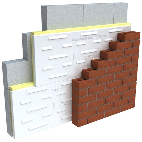 Xtratherm  CavityTherm Insulation- 1200 x 450mm