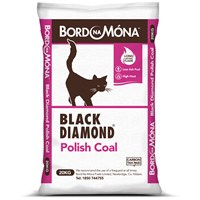 Bord na Móna Black Diamond Polish Coal - 20kg