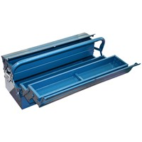 Tala  Cantilever Metal Toolbox - 21in