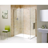 Flair Chianti End Panel (Includes Towel Rail) 1400mm