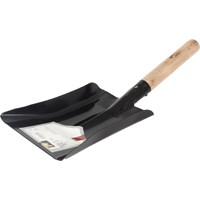 De Vielle  Fire Shovel Wood Handle - 7in