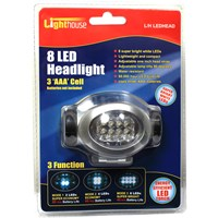Lighthouse  Headlight - 8 LED
