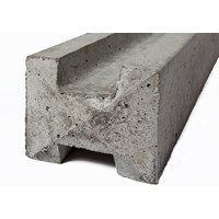 Independent Fencing  Concrete H Post - 2400 x 125mm
