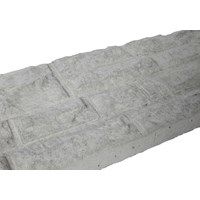 Independent Fencing  Concrete Rock Faced Base Panel - 300 x 1800mm