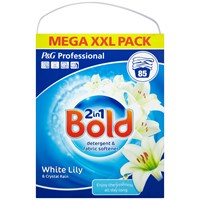 Bold  Professional 2-in-1 White Lily & Crystal Rain Washing Powder - 85 Washes