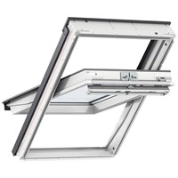 Velux  Double Glazed Centre Pivot Roof Window White - GGU 0070