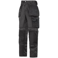 Snickers  3212 Craftsmen DuraTwill Holster Pocket Trousers - Black