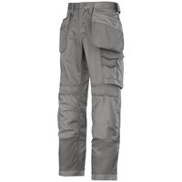 Snickers  3214 Craftsmen Canvas+ Holster Pocket Trousers - Grey