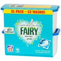 Fairy  Non Bio 3 in 1 Pods Washing Capsules - 52 Washes