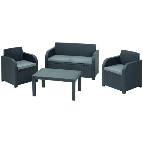 Suntime  Oklahoma 4 Piece Lounge Set