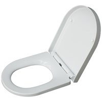 Bemis Saturn D Shaped Deluxe Soft Close Toilet Seat